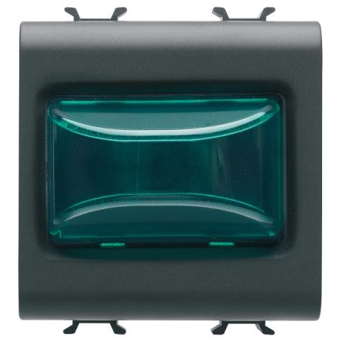 Индикаторна LED лампа 12V ac/dc/ 230V ac 50/60Hz - зелена