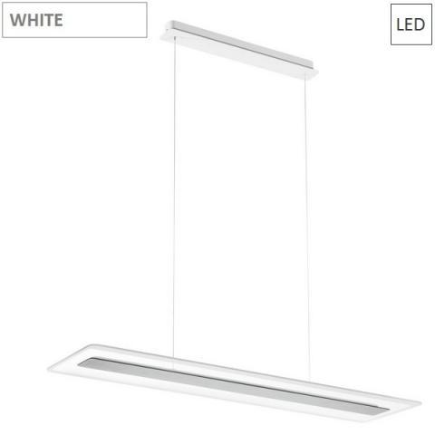 Пендел 950X250 LED 45W  бял