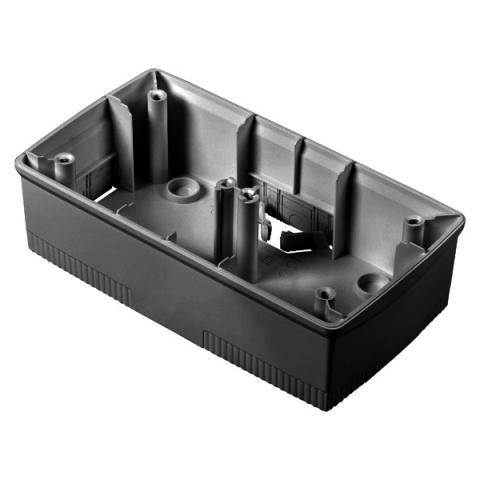 Конзола 2+2 модула черна за рамки ONE International