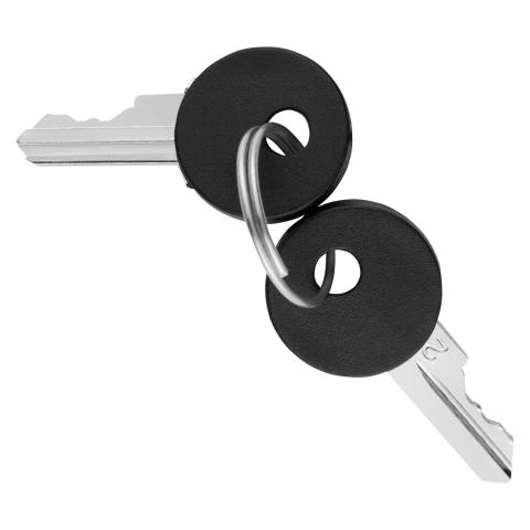 2 броя резервни ключове за единичен или девиаторен ключ