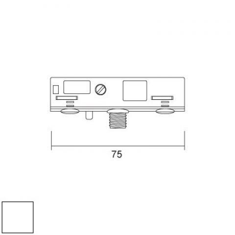 Адаптер за окачвач, 12V-5А-1kg (М10х1,5)