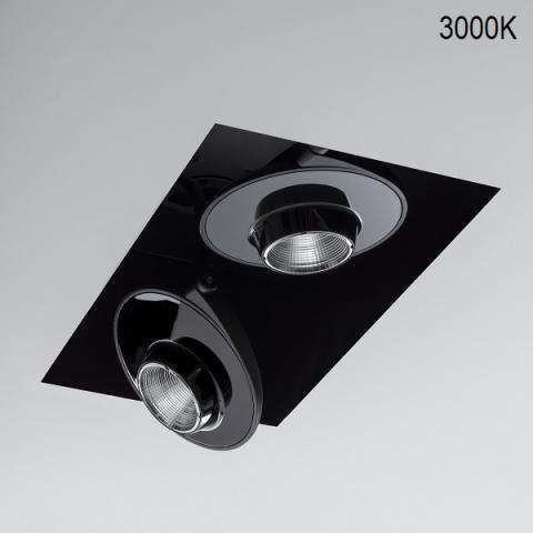 Двоен кардан KYCLOS-TL 2X36/51W LED 3000K