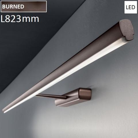 АПЛИК 823x149mm 34W LED 3K кафяв