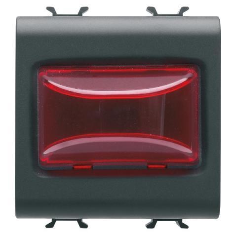Индикаторна LED лампа 12V ac/dc/ 230V ac 50/60Hz - червена