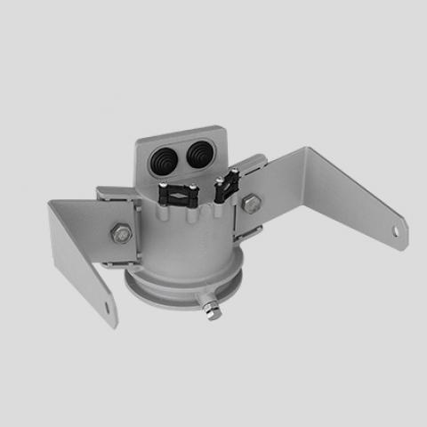 Единична конзола за монтаж върху стълб за GUELL 1