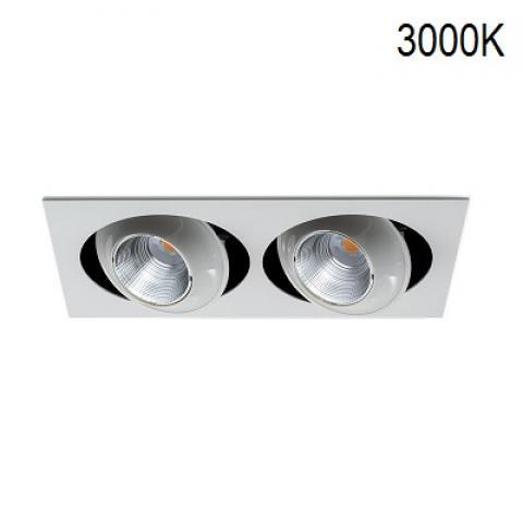 Двоен кардан MINIKYCLOS-IN 2X18/24W LED 3000K