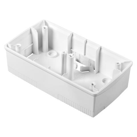 Конзола 2+2 модула бяла за рамки ONE International