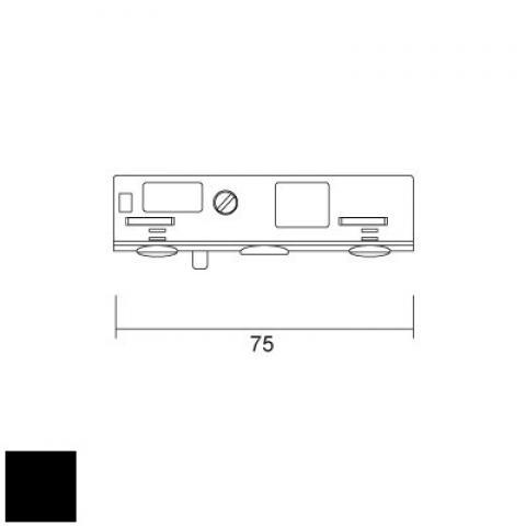 Адаптер за окачвач, 12V-5А-1kg (М8х1)
