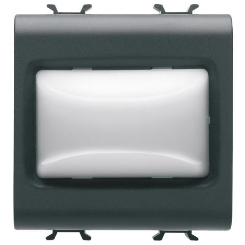Индикаторна LED лампа 12V ac/dc/ 230V ac 50/60Hz - бяла