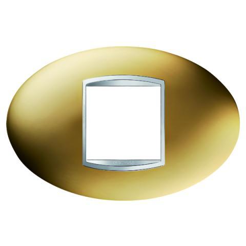 Рамка ART 2 модула - Gold
