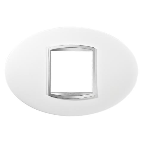 Рамка ART 2 модула - Milk White