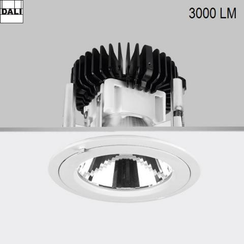 Луна Ra 18 DIXIT LED Fortimo DLM 34W 3000K DALI бяла