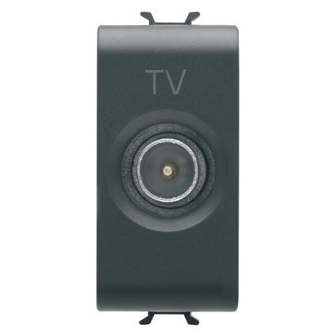 TV розетка преходна 5dB