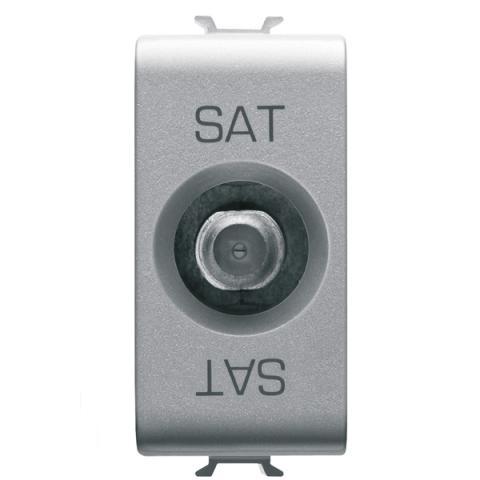 TV-SAT розетка преходна 10dB