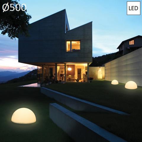 Градински осветител Ø500 LED IP65