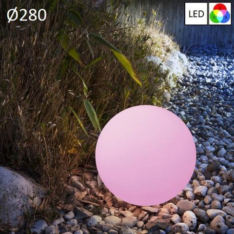 Градински осветител Ø280 LED RGB IP65