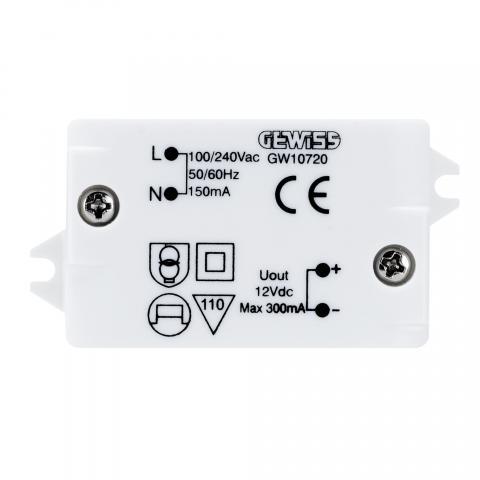 Захранващ блок 100/240V AC 50/60Hz / 12V dc