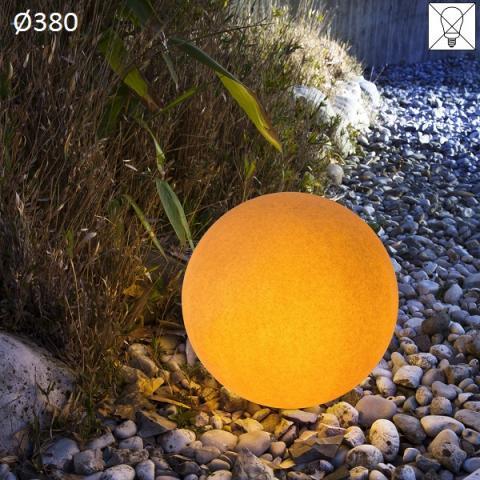 Наземна лампа Ø380 E27 max 46W амбра